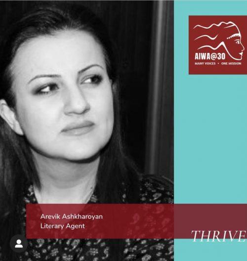 AREVIK ASHKHAROYAN FEATURED AT AIWA WOMEN ASSOCIATION WEBSITE